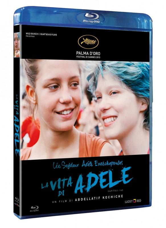 La copertina di La vita di Adele (blu-ray)