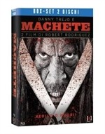 La copertina di Machete + Machete Kills (blu-ray)