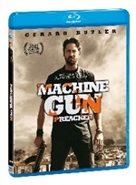 La copertina di Machine Gun Preacher (blu-ray)