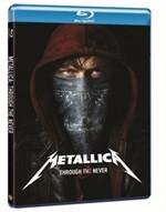 La copertina di Metallica Through the Never (blu-ray)