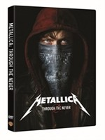 La copertina di Metallica Through the Never (dvd)