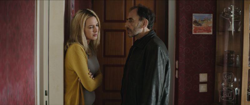 Stratos: Vangelis Mourikis in una scena del film con Vicky Papadopoulou