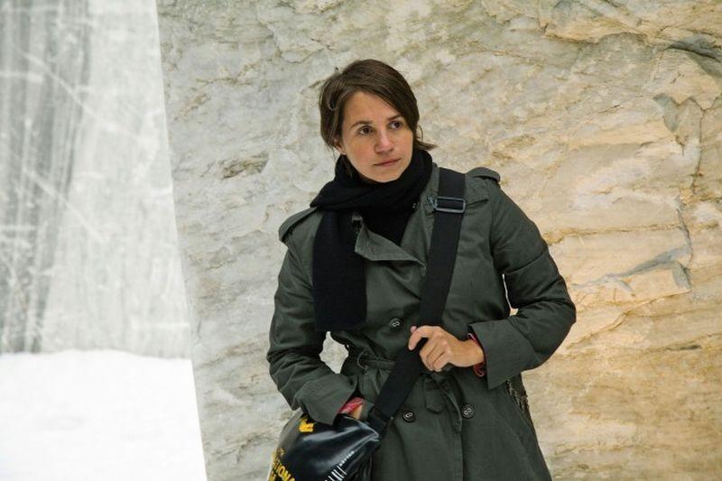 The third side of the river: la regista del film Celina Murga sul set del film