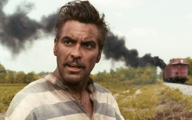 George Clooney in una scena di Fratello, dove sei?