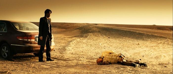 No Man's Land: Bo Huang a terra in una scena del film con Zheng Xu
