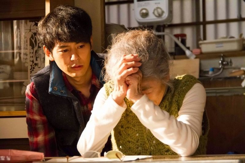 The Little House: Satoshi Tsumabuki insieme a Chieko Baisho in una scena