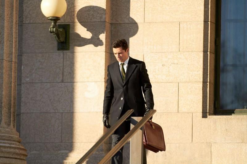 Un ragionevole dubbio: Dominic Cooper in una scena del film