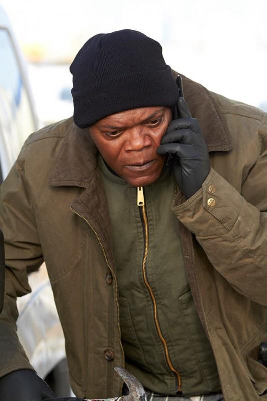 Un ragionevole dubbio: Samuel L. Jackson in una concitata scena del film