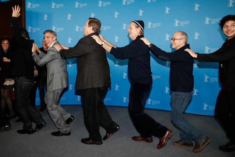 Berlino 2014 - un trenino per George Clooney e i suoi Monuments Men!