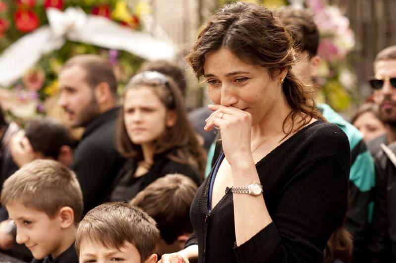 Anna Foglietta in L'oro di Scampia: una scena della fiction