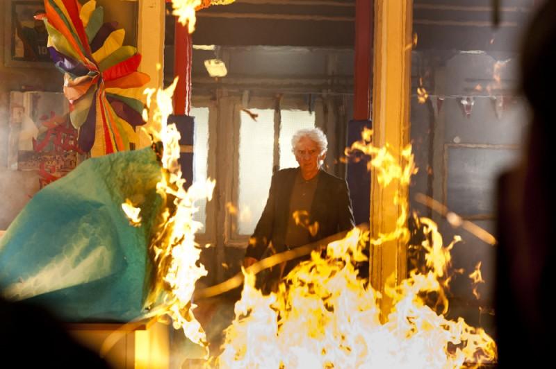 L'oro di Scampia - una drammatica scena della fiction