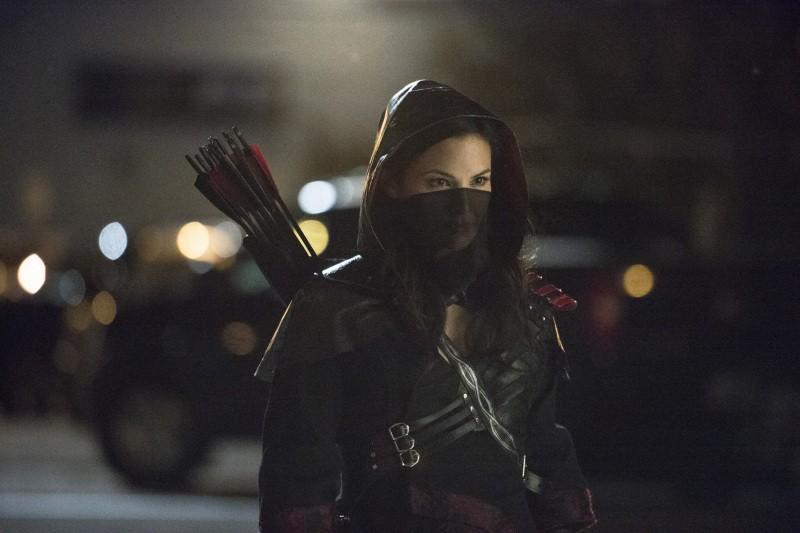 Arrow:  Katrina Law in una scena dell'episodio della stagione 2, Heir to the Demon