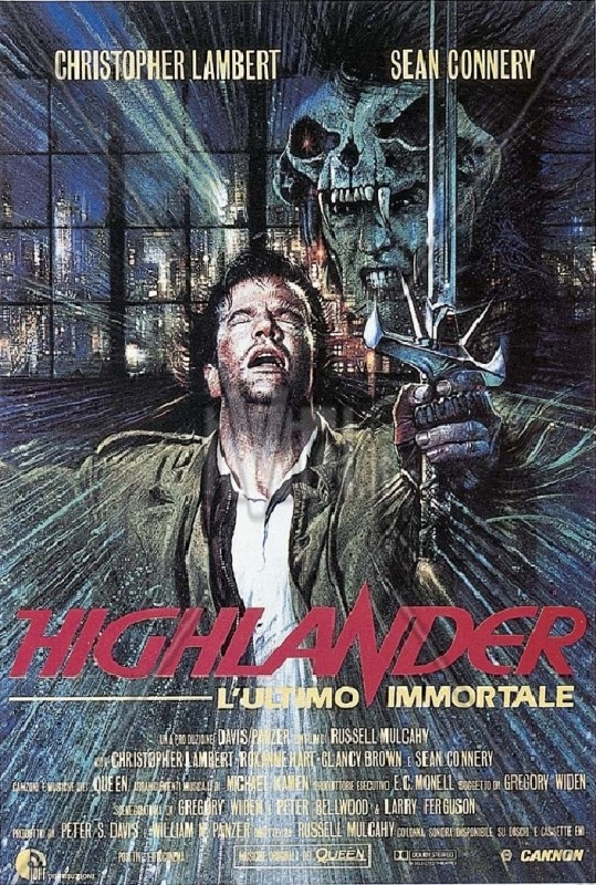 Highlander - L\'ultimo immortale: locandina italiana