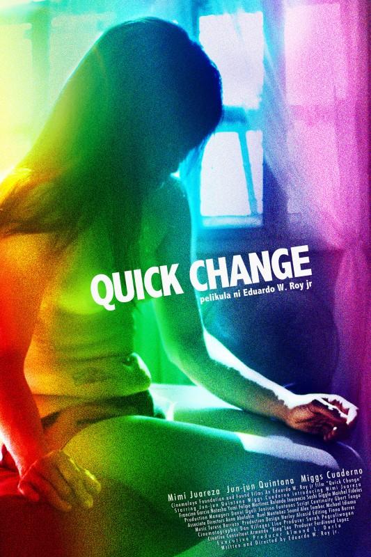 Quick Change: la locandina