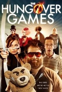 The Hungover Games: la locandina del film