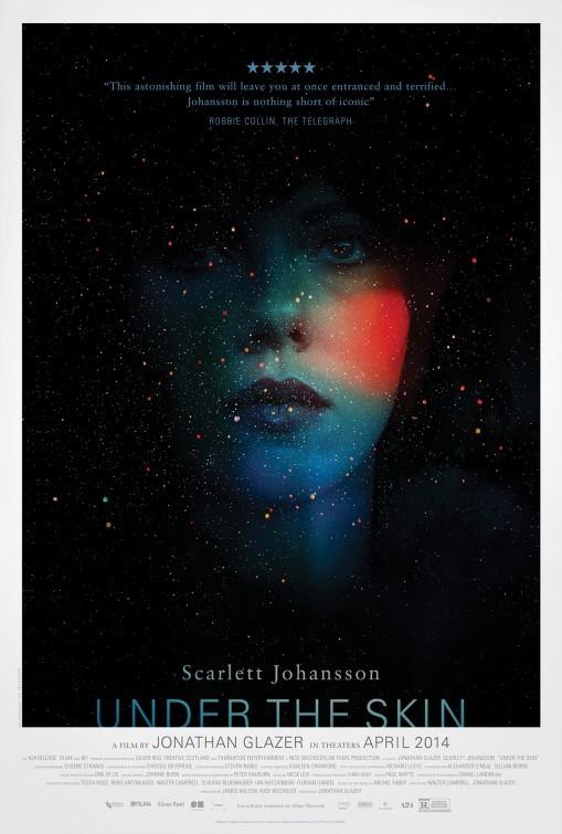 Under the Skin: la locandina del film