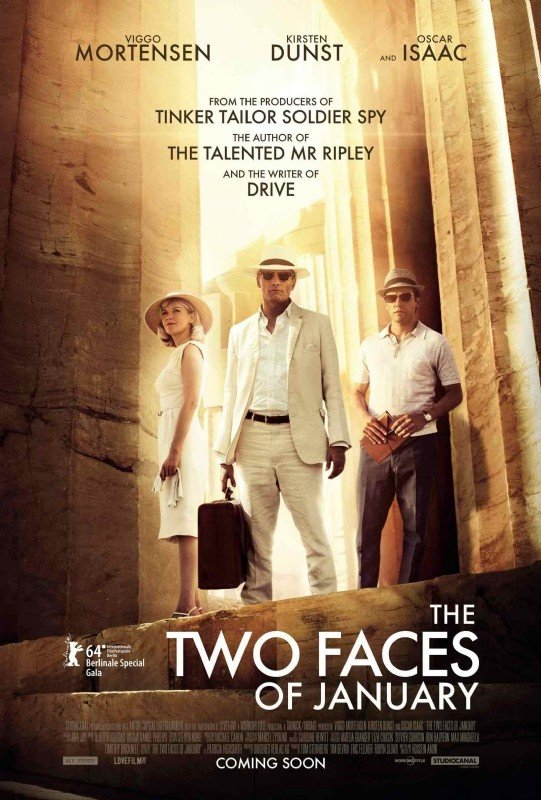 I due volti di gennaio: la locandina internazionale del film