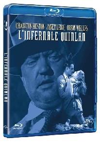 La copertina di L'infernale Quinlan (blu-ray)