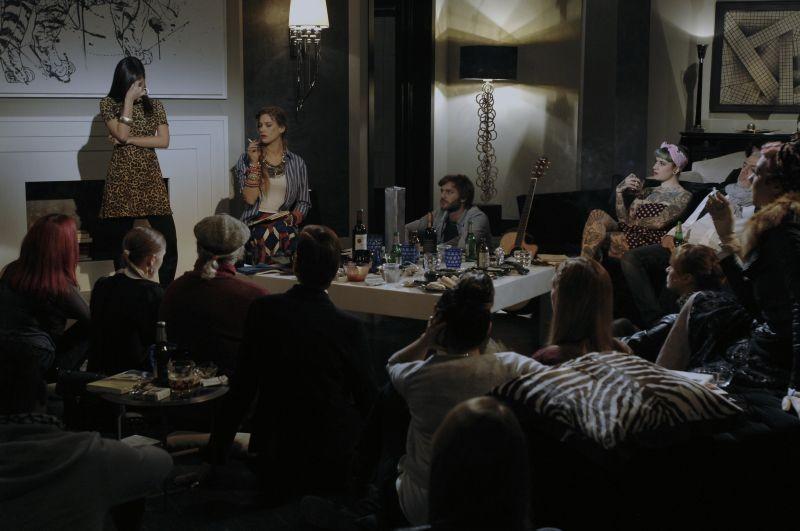 Sotto una buona stella: una bizzarra riunione tra poeti in casa Picchioni