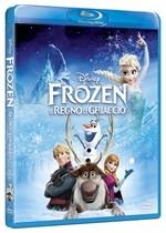 La copertina di Frozen - Il regno di ghiaccio (blu-ray)