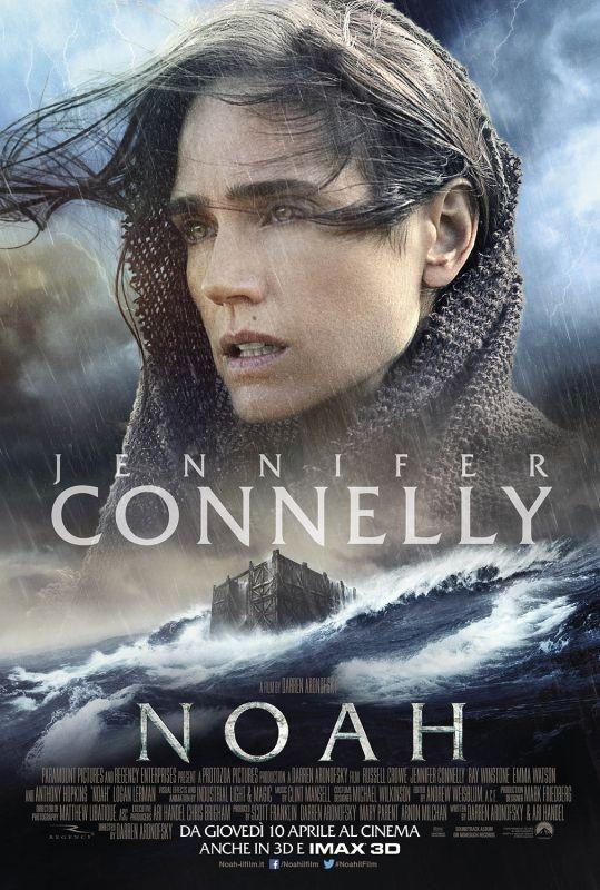 Noah: il character poster italiano con Jennifer Connelly