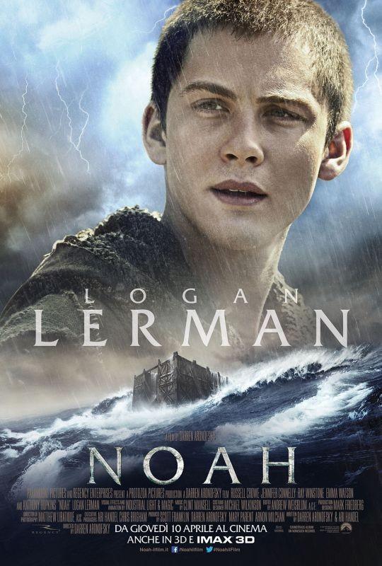 Noah: il character poster italiano con Logan Lerman