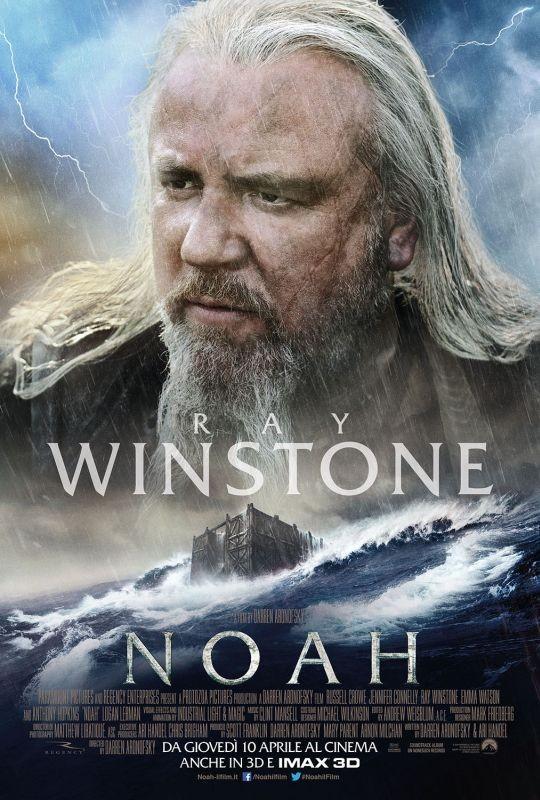 Noah: il character poster italiano con Ray Winstone
