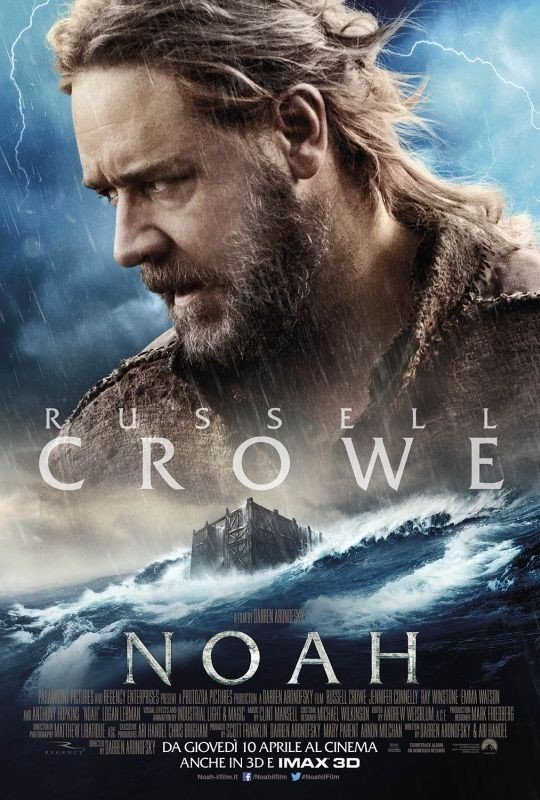 Noah: il character poster italiano con Russell Crowe