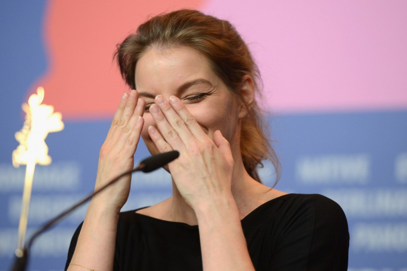 Berlino 2014 - Yvonne Catterfeld presenta La bella e la bestia