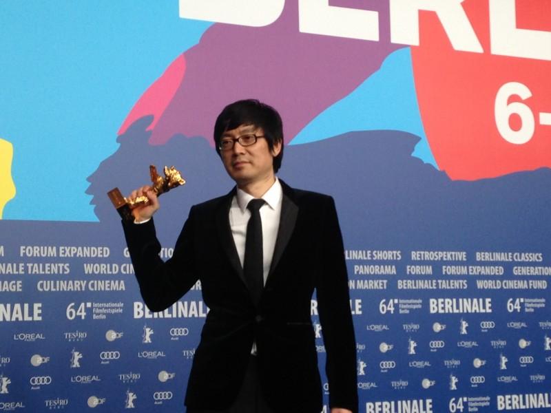 Diao Yi'nan vincitore dell'Orso d'Oro per Black Coal, Thin Ice alla Berlinale 2014
