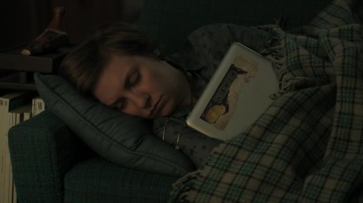 Girls: Lena Dunham in una scena dell'episodio Free Snacks della terza stagione
