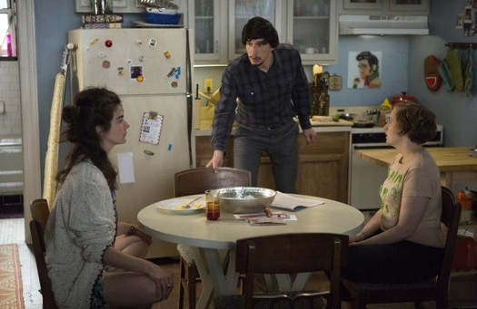 Girls: un momento dell'episodio Only Child della terza stagione
