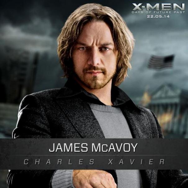 X-Men: Days Of Future Past: Un'immagine promozionale di James McAvoy