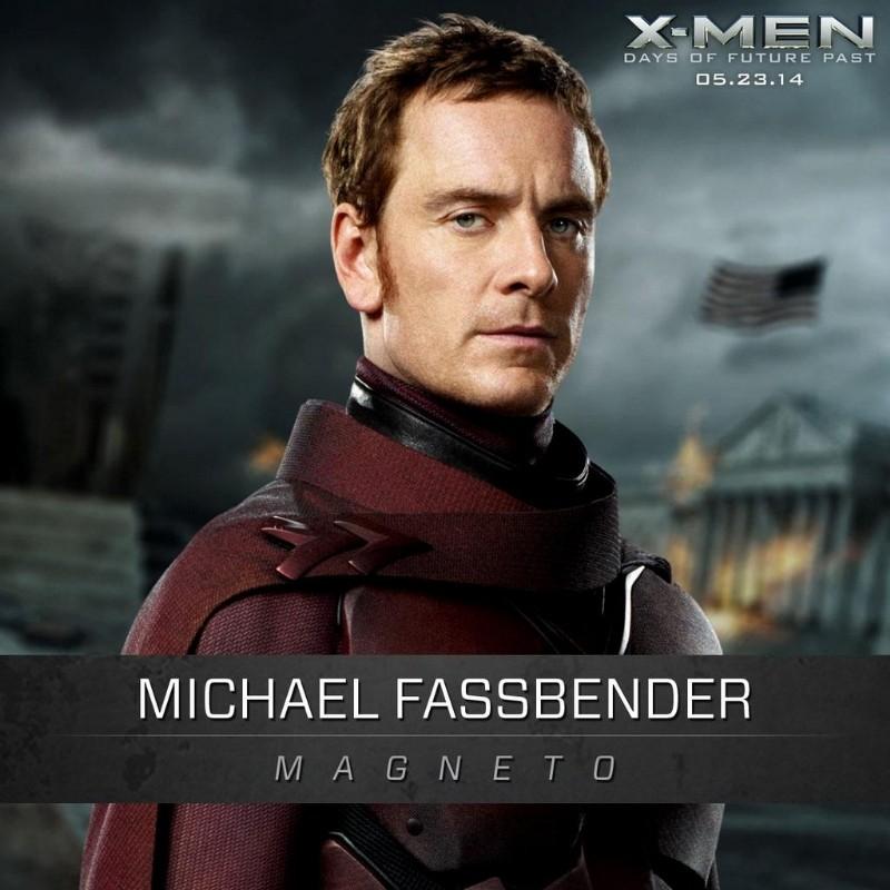 X-Men: Days Of Future Past: Un'immagine promozionale di Michael Fassbender