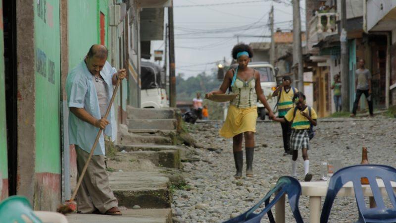 Chocò: Karent Hinestroza in una scena tratta dal film