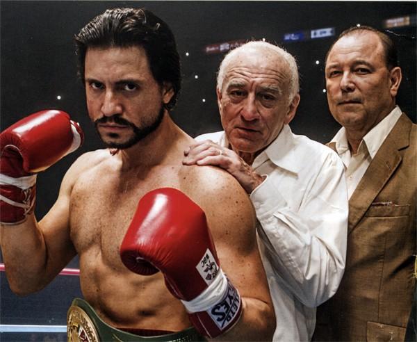 Hands of Stone: Edgar Ramirez e Robert De Niro nella prima immagine promozionale