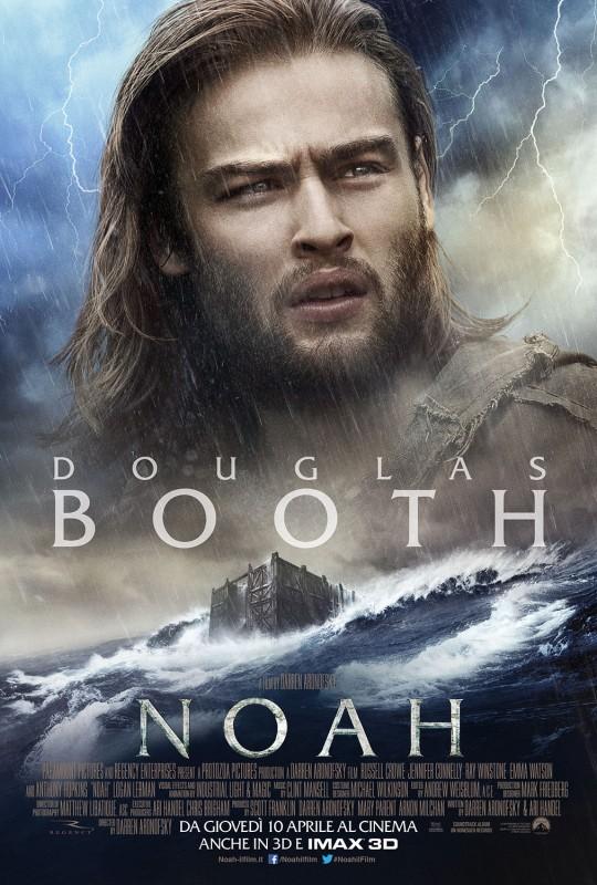 Noah: il character poster italiano con Douglas Booth