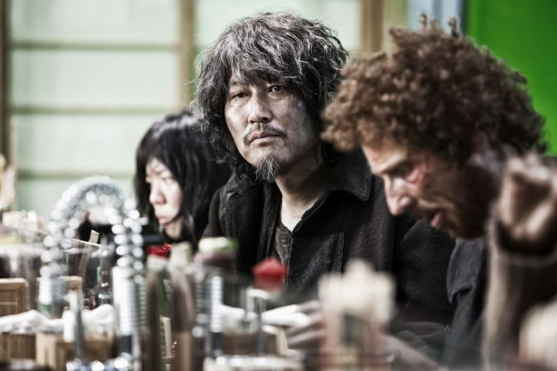 Snow Piercer: Song Kang-ho in un'immagine del film