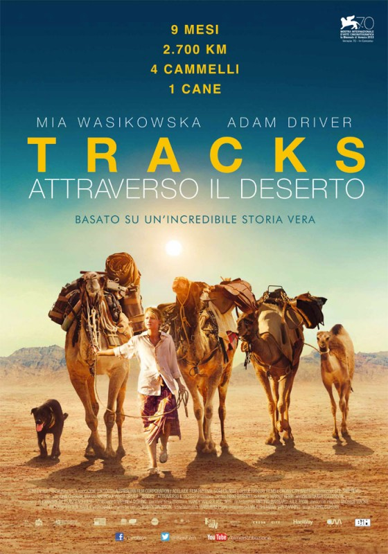 Tracks: la locandina italiana