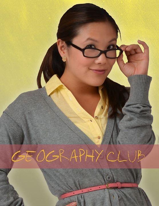 Ally Maki in una foto promozionale di Geography Club.