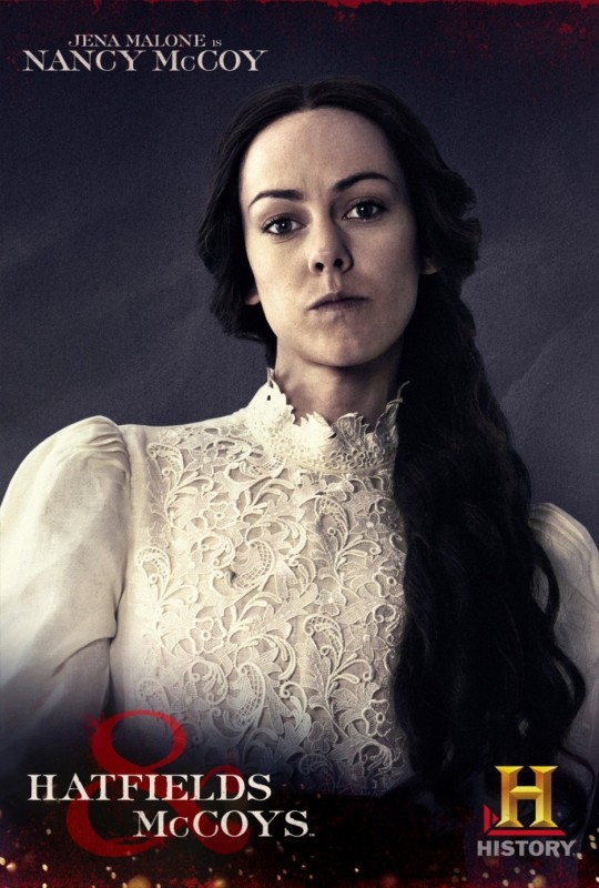 Jena Malone in Hatfields & McCoys - character poster