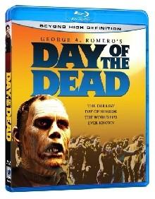 La copertina di Il giorno degli zombi - Day of the Dead (blu-ray)