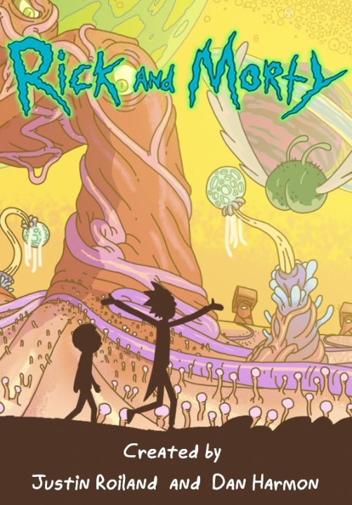 La locandina di Rick and Morty