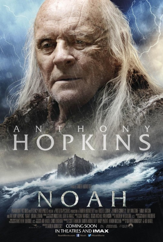 Noah: il character poster italiano con Anthony Hopkins