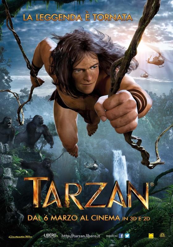 Tarzan: il poster italiano