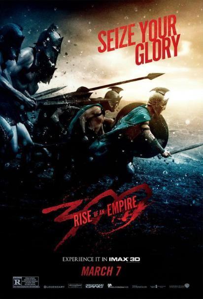 300 - L'alba di un impero: la locandina IMAX