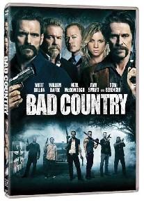 La copertina di Bad Country (dvd)