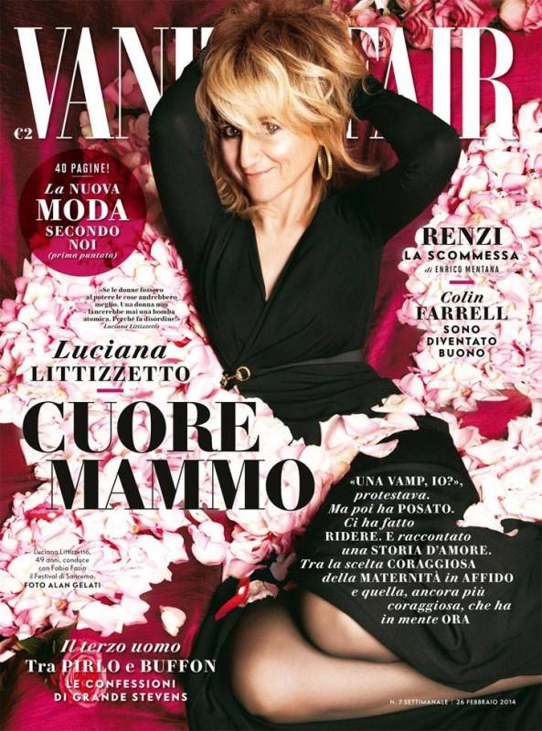 Luciana Littizzetto sulla copertina Vanity Fair Italia (febbraio 2014)