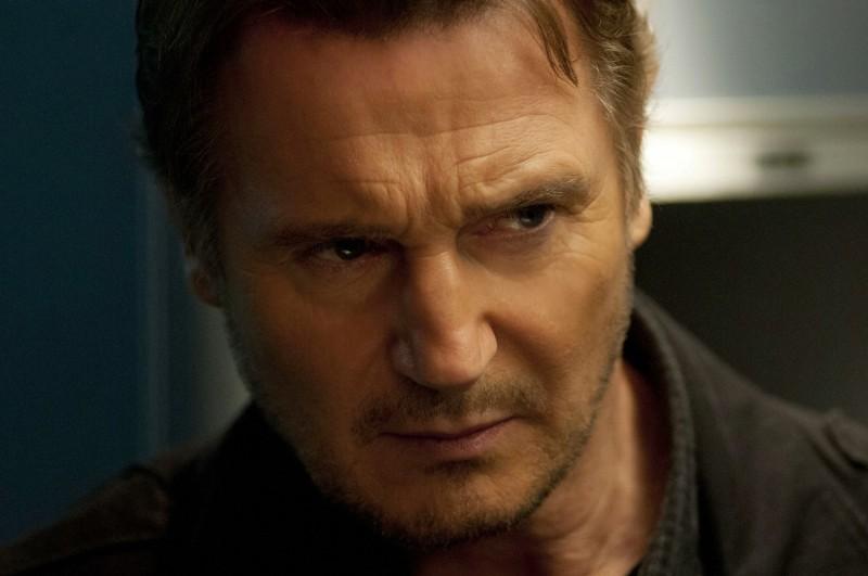 Non-Stiop: Liam Neeson in una scena del thriller