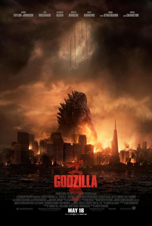 Godzilla: nuovo poster USA
